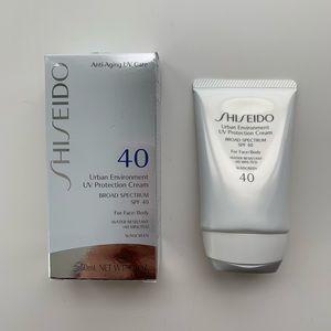 NEW Shiseido Urban Environment UV Protection Cream